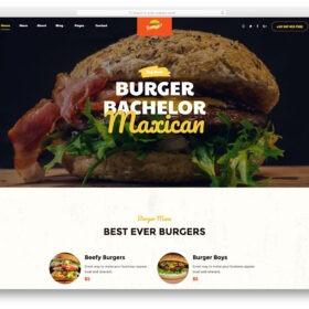 burger-free-template