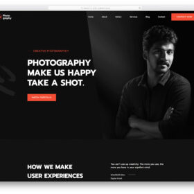myphotography-free-template