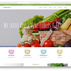 vegefoods-free-template